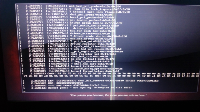 Backtrack 5 R3 live usb is not working on my lenovo g50 70